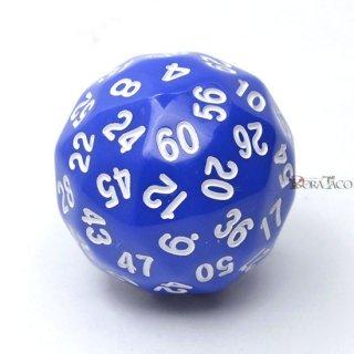 60面サイコロ単品 ブルー