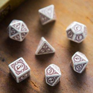 パスファインダー【ホワイトベージュ&ブルガンディ 7個セット】Return of the Runelords