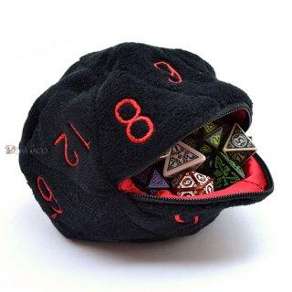 20面サイコロ型ダイスバッグ