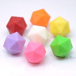 色をお選びください◆ミニダイス 20面0〜9サイコロ