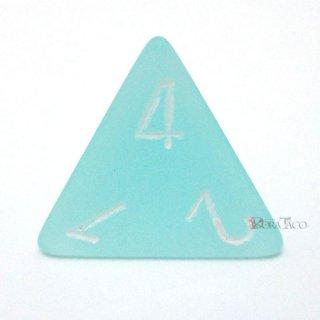 フロスト【テール&ホワイト】4面サイコロ(ダイス)