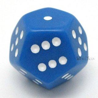 12面体6面ダイス【ブルー】サイコロ