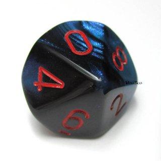 単品:チェセックス ジェミニ ブラック・スターライト&レッド 10面×1個