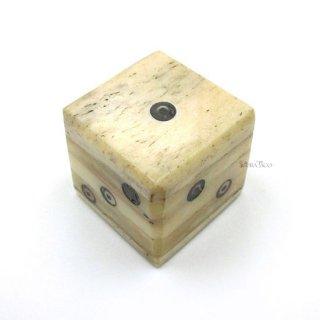 牛骨◆25mm6面ダイス単品