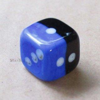 07◆ガラスの6面サイコロ (硝子ダイス)