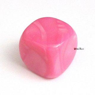単品◆無地【ピンク】6面サイコロ(ダイス)