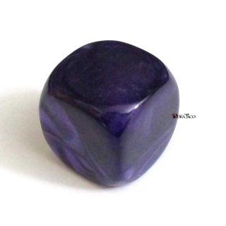 単品◆無地【紫】6面サイコロ(ダイス)