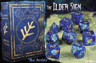 エルダーダイス第3弾 7種9個セット【ラヴクラフト/青】クトゥルフ神話 ELDER DICE