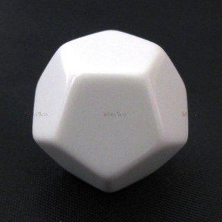 無地◆12面サイコロ(ダイス) CHX29035