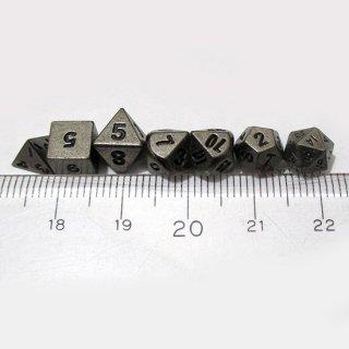 5mm マイクロダイス 7個セット【アンティークシルバーカラー】