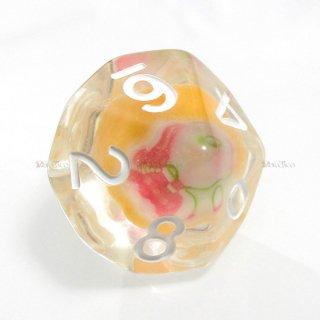 飴入り・お菓子のサイコロ(食べられません。) 10面サイコロ