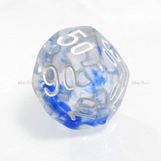 星雲ダイス【ブルー・透明】 テンズサイコロ