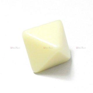 無地◆アイボリー 8面サイコロ(ダイス) CHX29043
