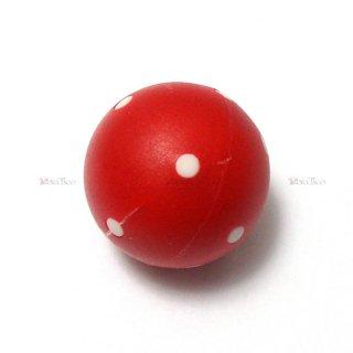 球体6面体ダイス【赤】