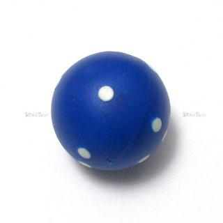 球体6面体ダイス【青】