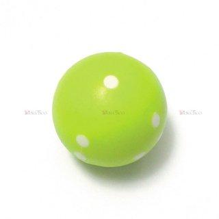 球体6面体ダイス【緑】