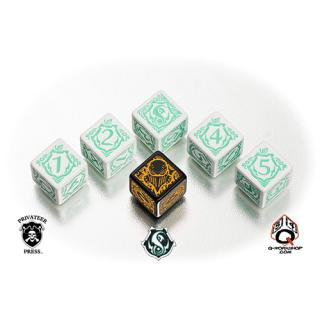 ウォーマシン(Warmachine)【6面ダイス×6個セット】Retribution of Scyrah Faction Dice Q-WORKSHOP