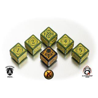 ウォーマシン(Warmachine)【6面ダイス×6個セット】Mercenaries Faction Dice Q-WORKSHOP