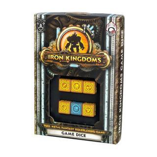 アイアンキングダム(Iron Kingdoms RPG)【6面ダイス×6個セット】 Q-WORKSHOP