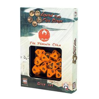 レジェンドオブザ5リング(Legend of the Five Rings)【オレンジ&ブラック/フェニックス】 Q-WORKSHOP