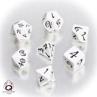 クラシック(Classic dice)【ホワイト&ブラックダイス】White&Black Q-WORKSHOP