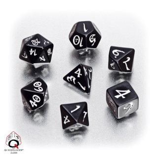 クラシック(Classic dice)【ブラック&ホワイトダイス】Black&White Q-WORKSHOP