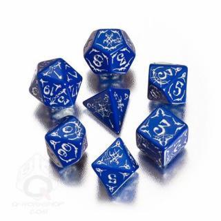パスファインダー(Pathfinder)【ブルー&ホワイト 7個セット】Second Darkness Dice Set Q-WORKSHOP