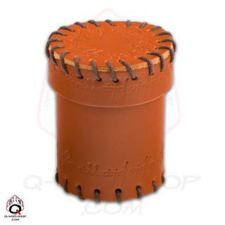 エルヴン(Elven)【レザーダイスカップ ブラウン】Leather Dice Cup Brown Q-WORKSHOP