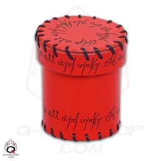 エルヴン(Elven)【レザーダイスカップ レッド】Leather Dice Cup Red Q-WORKSHOP