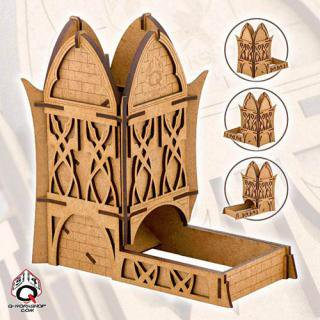 Q-WORKSHOPエルヴン(Elven)【ダイスタワー】Dice Tower Q-WORKSHOP