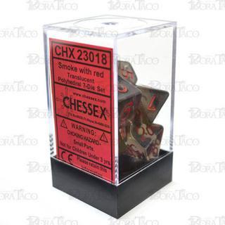 チェセックス(CHESSEX) クリアスモーク&レッド 7個セット