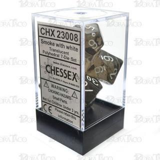 チェセックス(CHESSEX) スモーク&ホワイト 7個セット