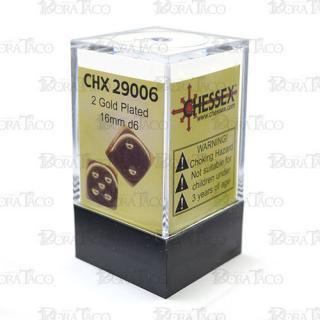 チェセックス(CHESSEX) 16mm ゴールドカラー 2個セット