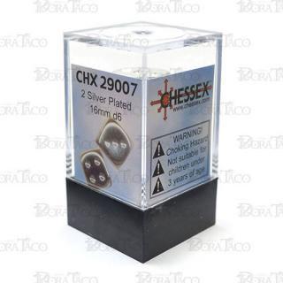 チェセックス(CHESSEX) 16mm シルバーカラー 2個セット