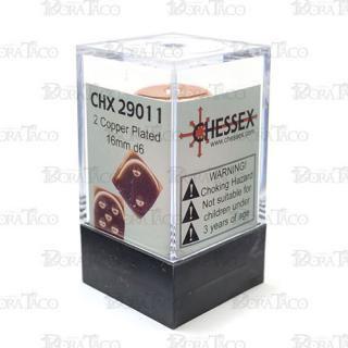 チェセックス(CHESSEX) 16mm ブロンズカラー 2個セット