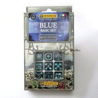 アイアンダイ アンリミテッドダイス9個セット ブルー