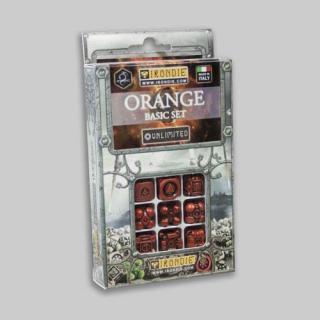 アイアンダイ アンリミテッドダイス9個セット オレンジ