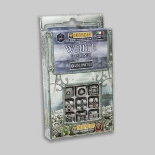 アイアンダイ アンリミテッドダイス9個セット ホワイト