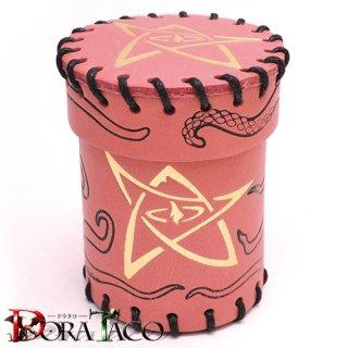 クトゥルフ神話 ピンク レザーダイスカップ