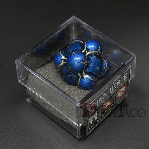 アイアンダイ レーザー装飾 レア6面サイコロ ブルー Nullifier