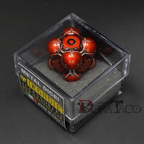 アイアンダイ レーザー装飾 レア6面サイコロ オレンジ Nullifier