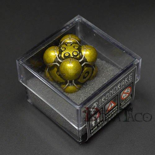 アイアンダイ レーザー装飾 レア6面サイコロ イエロー- Nullifier