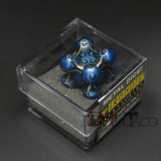 アイアンダイ レーザー装飾 レア6面サイコロ ブルー Barrier
