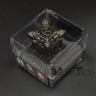 アイアンダイ レーザー装飾 レア6面サイコロ ブラック Swarm