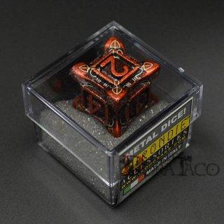 アイアンダイ レーザー装飾 レア6面サイコロ オレンジ Swarm