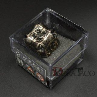 アイアンダイ レーザー装飾 レア6面サイコロ ブラック Regeneration