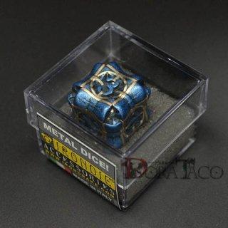 アイアンダイ レーザー装飾 レア6面サイコロ ブルー Regeneration