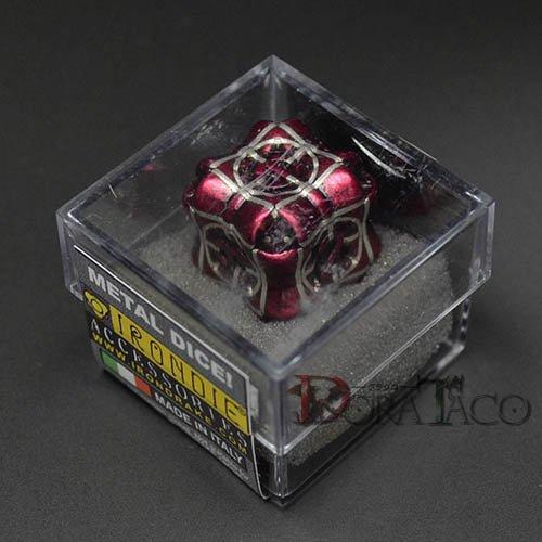 アイアンダイ レーザー装飾 レア6面サイコロ レッド- Regeneration