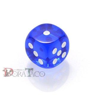 D6・単品 チェセックス 12mm 6面サイコロ ブルー