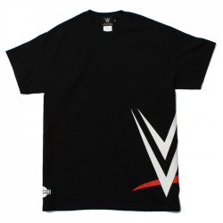 <img class='new_mark_img1' src='https://img.shop-pro.jp/img/new/icons24.gif' style='border:none;display:inline;margin:0px;padding:0px;width:auto;' /><日本限定>WWE ロゴ Tシャツ2 ブラック
